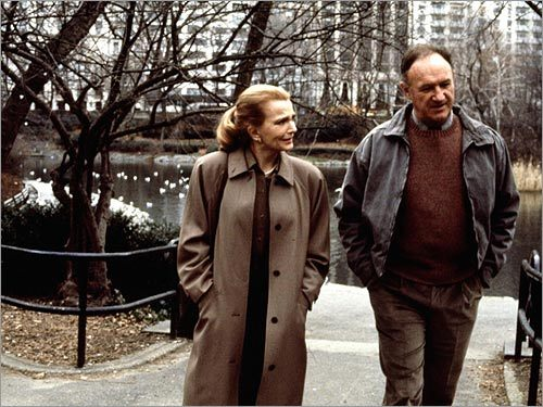 Gena Rowlands and Gene Hackman