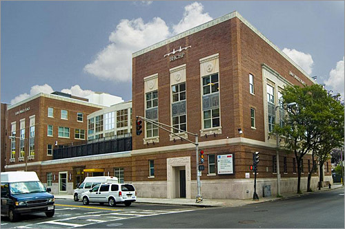 Jean Yawkey Place, BHCHP's new home, is located across the street from Boston Medical Center's Emergency Department and next to Boston Public Health Commission's Woods Mullen Shelter.