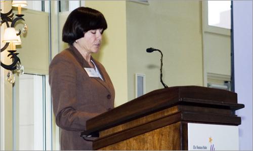 Keynote speaker Karen Daly.