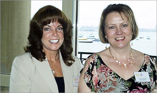 Kathleen Janiak and Teresa Colacitti.