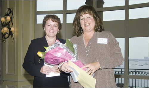 Laura Huber, left, and Janice Tully.