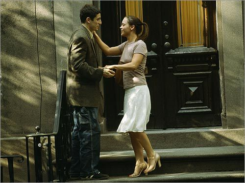 Christina Ricci and Jason Biggs