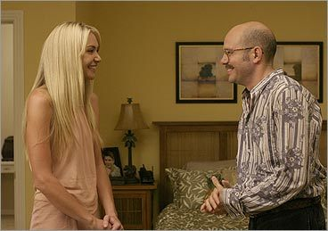 Portia de Rossi and David Cross on 'Arrested Development'