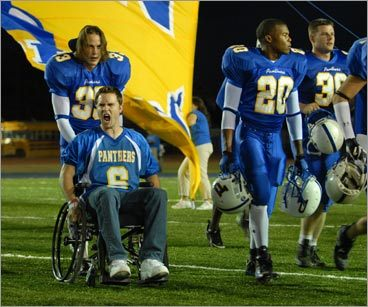 Taylor Kitsch and Scott Porter in 'Friday Night Lights'