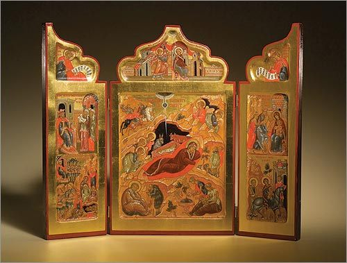 Triptych of the Holy Nativity of Christ