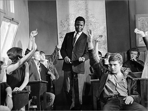 Sidney Poitier in 'To Sir, With Love'