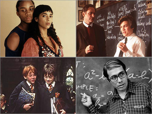 NOW IN SESSION With students soon back in school, perhaps you'd care to reignite (or revisit) an academic state of mind. Here is a roundup of films that capture the academic spirit of high school and may inspire you to hit the books (or at least remind you of your school days).