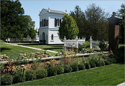 Want a look into some of the region's most decadent and exclusive gardens? Follow us on the Newport Garden Tour. Pictured: One of the tea houses at the home of Ron Fleming in Newport, RI.
