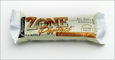 The Zone Diet By dividing meal portions, Dr. Barry Sears' diet works on balancing the body's hormones to regulate insulin production, and trim fat. The diet has produced many books and customized snacks, like this chocolate peanut butter bar.