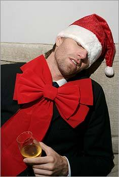 14. Don't drink too much. Drink slightly less at your sweetheart's family Christmas dinner than you would at your office party. You do know you should never have more than one or two at the office party, right?