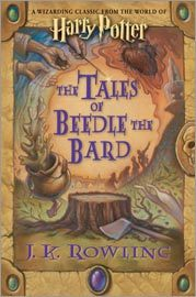 J.k. Rowling's latest book 'The Tales of Beedle the Bard'