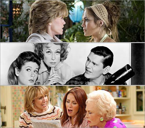 Mothers-in-law tend to get a bad rap in pop culture. On the other hand, they're often amusing, cringingly so. We rounded up a few memorable dames from small screens and large, some domineering, one supportive, and one simply over the top. At the end, tell us who was the worst and which frightening mothers-in-law got snubbed . And keep in mind, when the mother-in-law moves in, it's an adjustment for everyone (even a president) . — Matthew Gilbert and Hayley Kaufman, Globe Staff