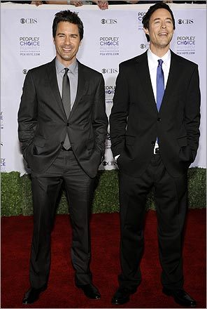 Eric McCormack and Tom Cavanaugh