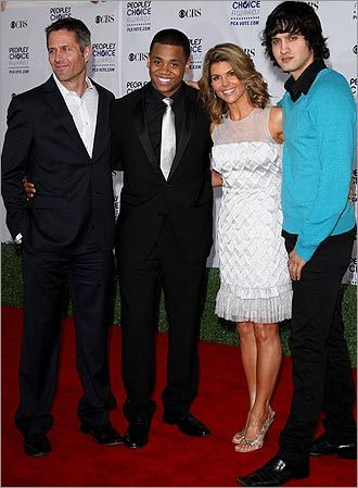 Rob Estes, Tristan Wilds, Lori Loughlin, and Michael Steger