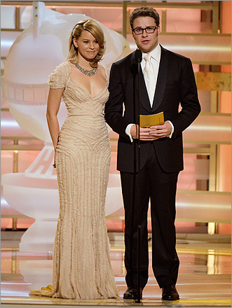 Elizabeth Banks and Seth Rogan