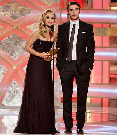 Hayden Panettiere and Zac Efron