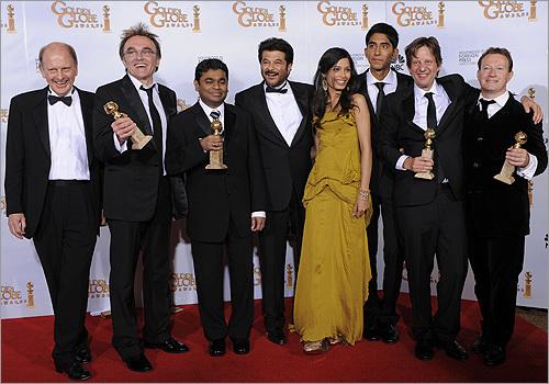'Slumdog Millionaire' cast