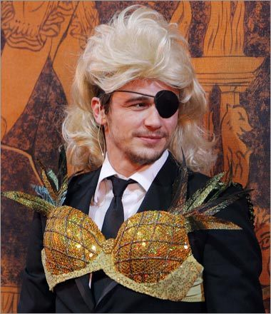 James Franco is Hasty Pudding's Man of the Year