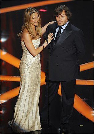 Jennifer Aniston and Jack Black