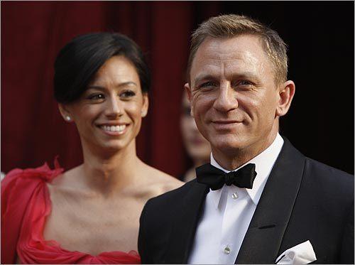 Daniel Craig and Satsuki and Mitchell