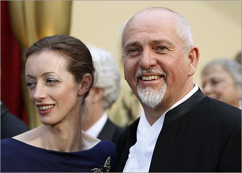 Peter Gabriel and Meabh Flynn
