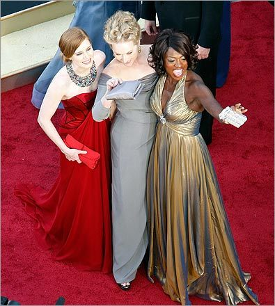 Amy Adams, Meryl Streep, and Viola Davis