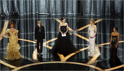 Sophia Loren, Shirley McLain, Marion Cotillard, Nicole Kidaman, and Halle Berry
