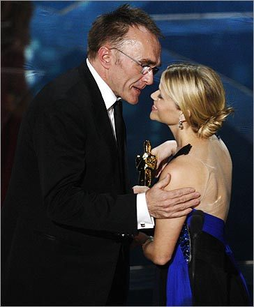 Danny Boyle and Reese Witherspoon