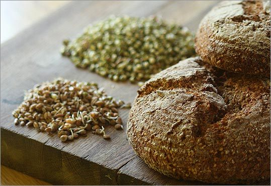 Sprouted bread.