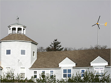 Cape Wind woes A wind farm project on Cape Cod Was never quite given the nod The islanders knew It'd be done with the view And we do like our oil from Riyadh. &mdash by LipstickOnAPig