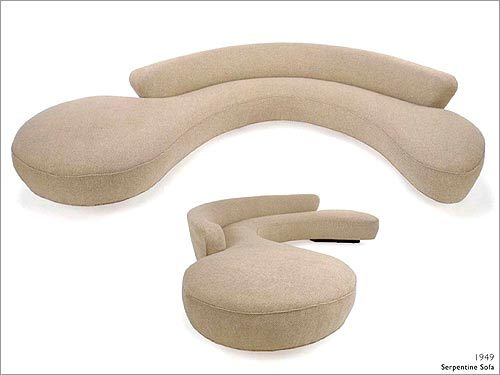 Delicieux 1949: Serpentine Sofa U0027Most Sofas In Those Days Were Straight Sofas. It  Looked