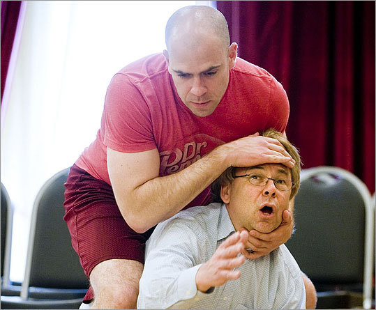 'Jerry Springer: The Opera' in rehearsal