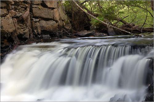 Wadleigh Falls in Lee, N.H.