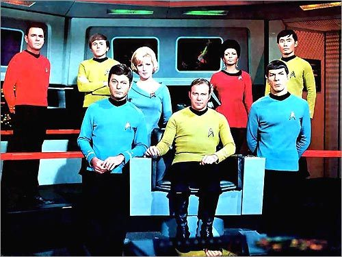 10. Watch the original 'Star Trek' Familiarize yourself with the show, also called 'Star Trek: TOS,' before declaring yourself a Trekkie. After all, no one likes a bandwagon fan.