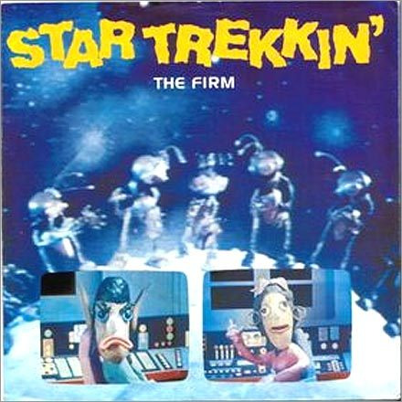 3. Memorize the lyrics to 'Star Trekkin'' British rockers The Firm issued this call to arms for all Trekkies in 1987. A sample chorus: Star Trekkin' across the universe, On the Starship Enterprise under Captain Kirk. Star Trekkin' across the universe, Only going forward, still can't find reverse.