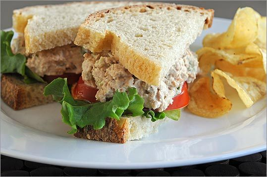 Buck's Tuna, Whole Foods : To replicate the store version it's important to use an electric mixer instead of a food processor.