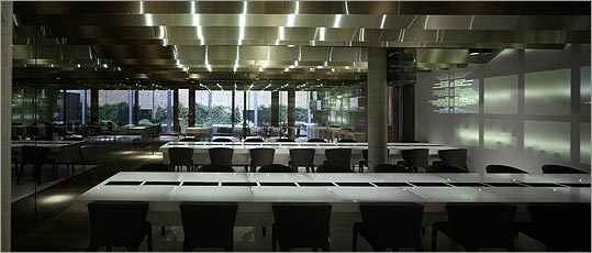 The Monvinic restaurant in Barcelona has a sleek design -- and a wine list of 3,500 bottles.