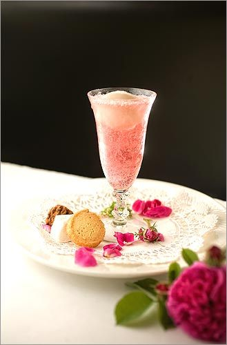 Flower power You can almost taste the summer sun in the rose petal raspberry float at Beacon Hill Bistro. The fresh, sweet flavor actually comes from the drink's rose soda (with raspberry puree), made by pastry chef Shannon Black with help from chef Jason Bond – he forages for the rose petals in Westport. Poured over just a spoonful of litchi sorbet, it's nothing like any brown cow you've ever sipped. Beacon Hill Bistro, 25 Charles Street, Boston, 617-723-1133, beaconhillhotel.com/bistro