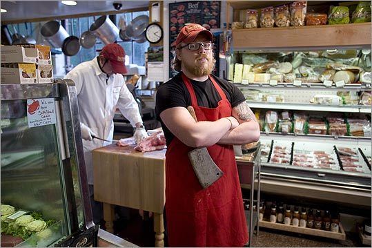 At Savenor's butcher shop in Boston, the butchers teach hourlong classes on barbecue techniques and how to cut up a chicken.