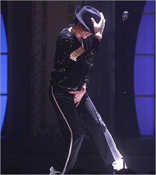 Michael Jackson in 2001