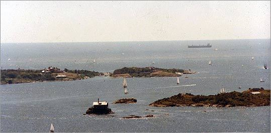 Is Perched On A Rock Amid The Larger Islands Of Narragansett Bay