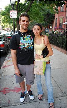 John Mauro and Sarah Chaves