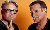 Bobcat Goldtwait and Robin Williams