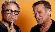 Bobcat Goldtwait and Robin Williams