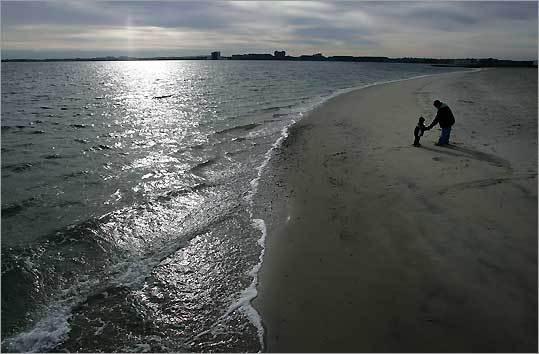 L Street Beach in South Boston