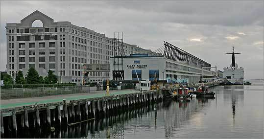 The Black Falcon Cruise Terminal