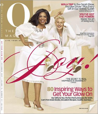 Oprah Winfrey and Ellen DeGeneres