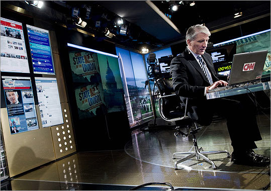 John King, who grew up in Dorchester, hosts the weekly 'State of the Union' show on CNN and will take Lou Dobbs's place with a new show on the 24-hour Cable News Network.