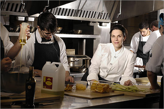 A cut above Lynch possesses an ability to attract talent to her kitchens, in part because she offers opportunities for advancement.