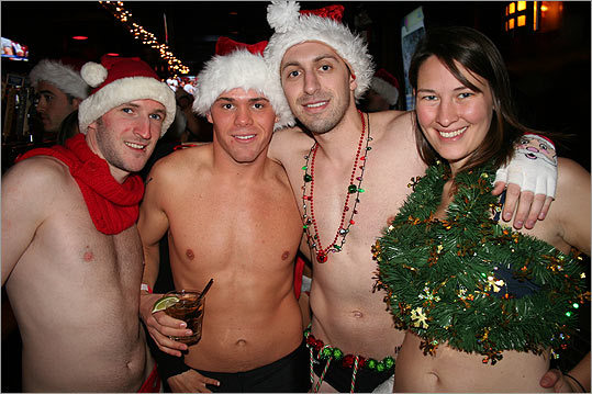 From left: Sean O'Donnell of Brighton, Mike Kuczmeir of Framingham, Mike Halas of Jamaica Plain, and Danielle Pillion of Boston.